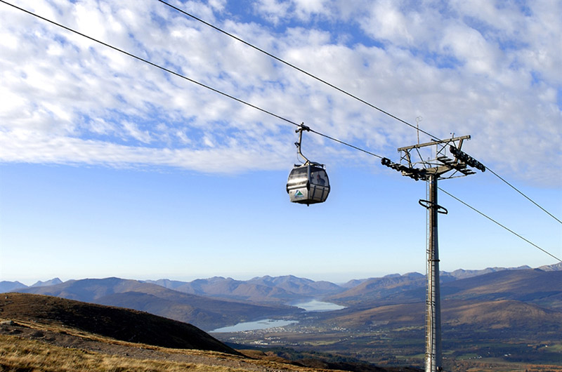 Nevis Range Gondola Fort William by Andy Gray